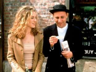 willie garson e sarah jessica parker in sex and the city 2