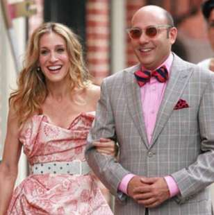 willie garson e sarah jessica parker in sex and the city 3