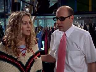 willie garson e sarah jessica parker in sex and the city 4