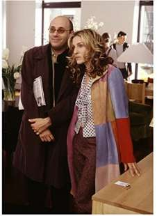 willie garson e sarah jessica parker in sex and the city 5