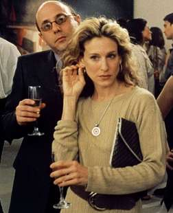 willie garson e sarah jessica parker in sex and the city 6