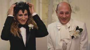 willie garson e sarah jessica parker in sex and the city 7