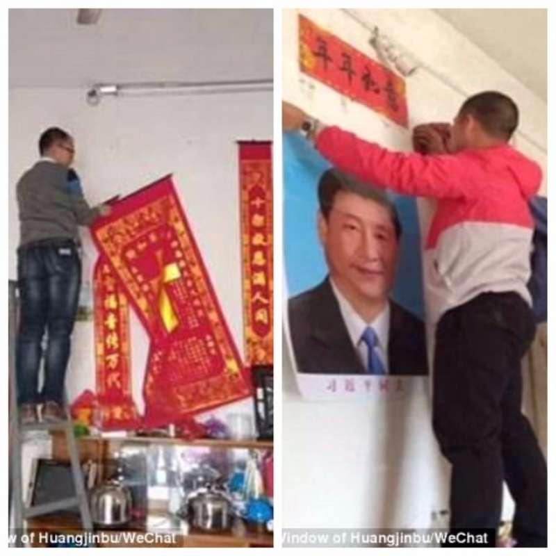 XI JINPING AL POSTO DI GESU. IN CINA