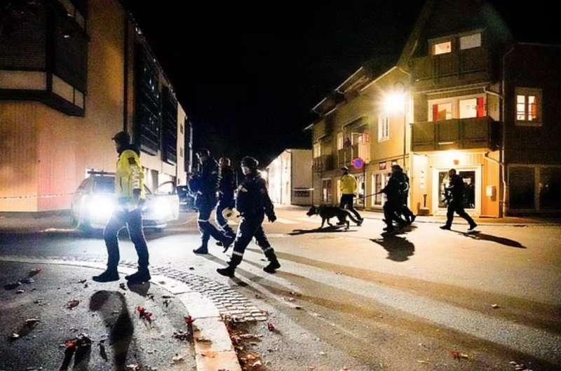 assalto con arco e frecce a kongsberg, norvegia 10