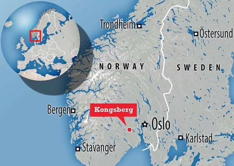assalto con arco e frecce a kongsberg, norvegia 9