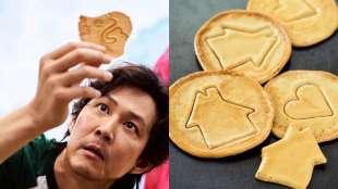 biscotti al caramello squid game