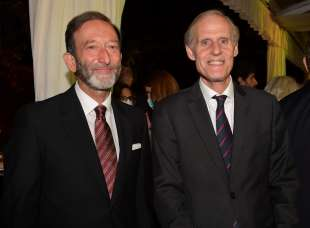 gli ambasciatori viktor elbling e christian masset foto di bacco