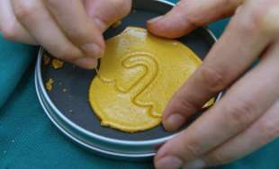 i dalgona i biscotti al caramello di squid game