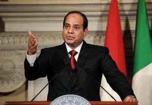 il presidente egiziano al sisi 1