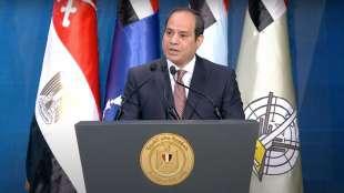 il presidente egiziano al sisi 2
