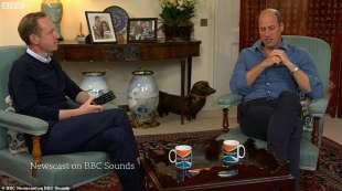 Il principe William alla BBC
