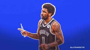 KYRIE IRVING NO VAX