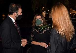 l ambasciatore viktor elbling con la moglie ricevono la presidente casellati foto di bacco (1)