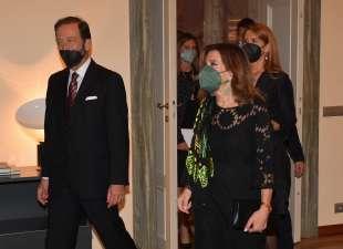 l ambasciatore viktor elbling con la moglie ricevono la presidente casellati foto di bacco (2)