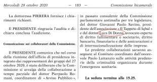 LUCA DI DONNA COLLABORATORE DELLA COMMISSIONE BICAMERALE ANTIMAFIA