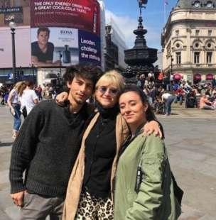 luciana littizzetto con i suoi figli 3