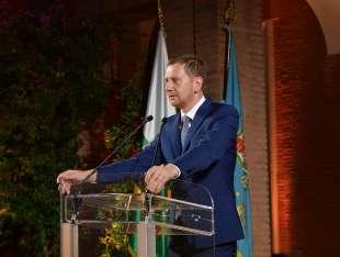 michael kretschmer presidente dello stato libero della sassonia foto di bacco (1)