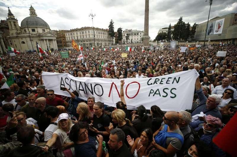 no green pass a roma 2