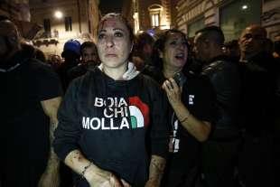 roma, scontri durante la manifestazione dei no green pass 6