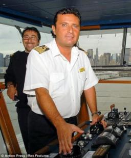Arrested captain Francesco Schettino