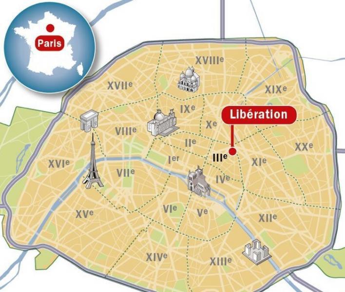 Dove si trova la redazione di liberation a parigi dago for Bagno a ripoli dove si trova