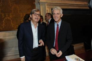 Vittorio Sgarbi e Massimo Bray