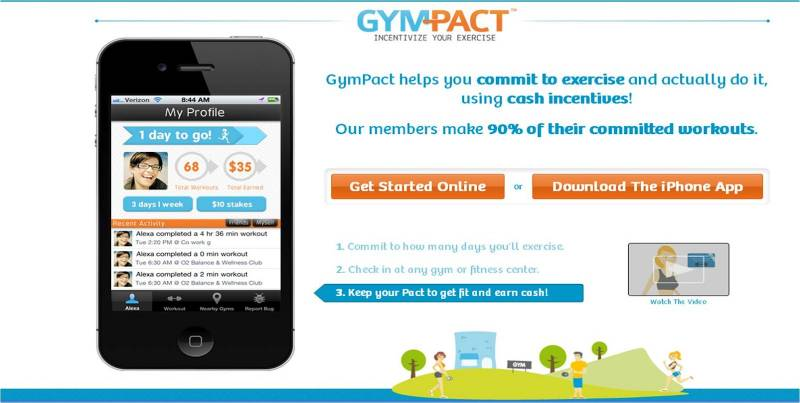 App gym pact 2 dago fotogallery for Gimnasio quirinal