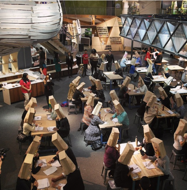 paper bag speed dating london Will you smell an armpit to find your true love participants met each other wearing a paper bag over i have tried speed dating in australia and london and.
