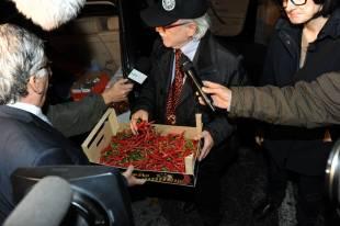 cena di finanziamento del pd a roma enzo monaco col peperoncino