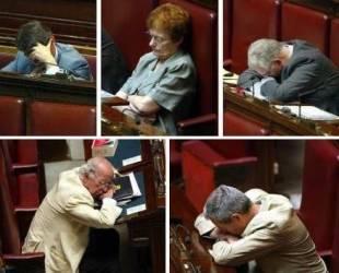 dormienti in senato