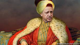erdogan in versione imperatore ottomano
