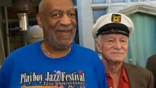 Hugh Hefner e Bill Cosby