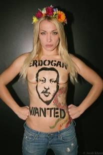 inna shevchenko Femen CONTRO erdogan