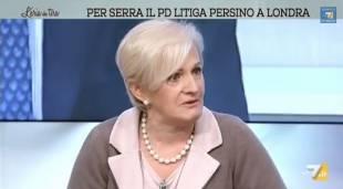 LIVIA TURCO PIANGE PER IL CALO DI ISCRITTI AL PD