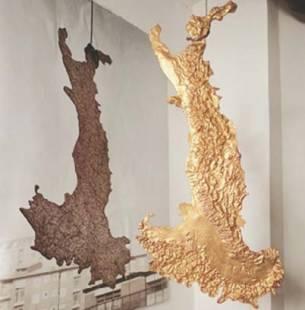 luciano-fabro Italia d'oro