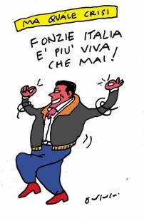 MATTEO RENZI BY VINCINO