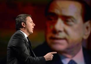 Matteo Renzi e berlusconi