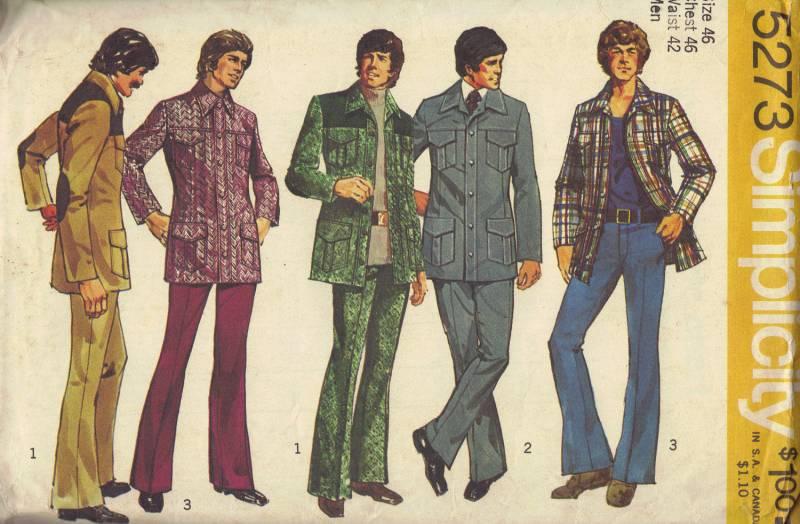 size 40 c4ec9 f5a62 anni 70, il decennio orribile della moda – zampa d'elefante ...