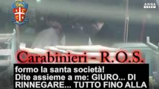 ndrangheta 40 arresti il giuramento 9