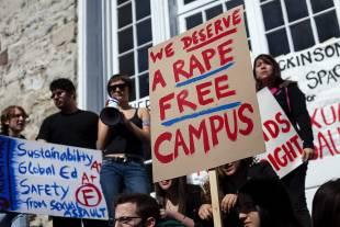 No Rape nei campus americani