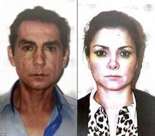 Jose Luis Abarca E LA MOGLIE Maria de Los Angeles Pineda