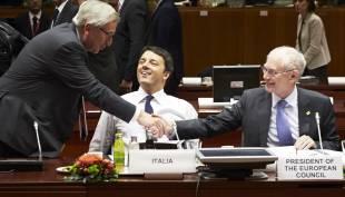 Renzi Juncker Van Rompuy