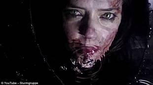 scena del video di marilyn manson
