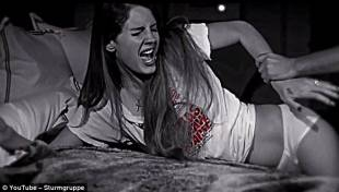 stupro lana del rey nel video di marilyn manson