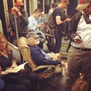 sulla metro di new york