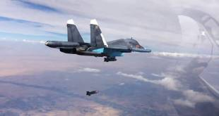 aereo russo sgancia bomba su obiettivo isis