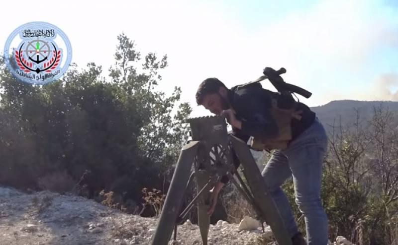 Elicottero Russo : Elicottero russo distrutto dai ribelli siriani dago