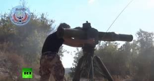 elicottero russo distrutto dai ribelli siriani 8