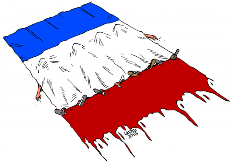 La Bandiera Francese Di Carlos Latuff Dago Fotogallery