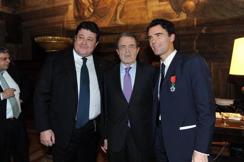MARIO BENOTTI - ROMANO PRODI - SANDRO GOZI
